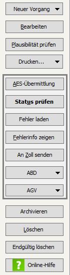 Buttons intellicon Zollmodul